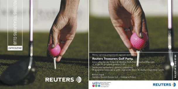 Reuters Treasurers Golf Party